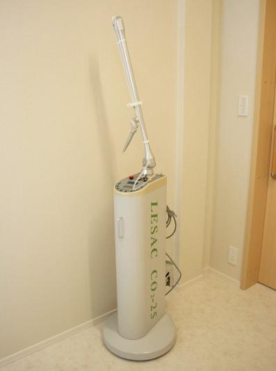 炭酸ガスレーザーによるほくろ治療